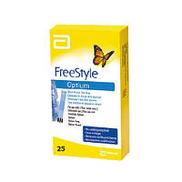 Тест полоски FreeStyle Optium xceed 25 шт.
