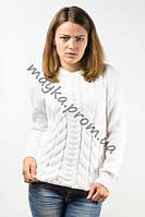 Пуловер женский вязаный Palvira белый 44-46 pal 5078