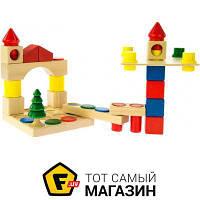 Блочный конструктор для мальчиков, девочек от 1,5 лет - Nic Toys Cubio (NIC2101)