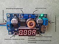 Мини лаборатория-Конвертер , зарядное устройство постоянного тока 5А