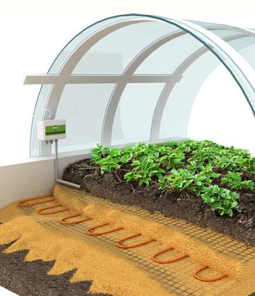 Обогрев грунта теплиц Greenbox agro (14 GBA-815)