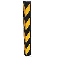 Резиновые уголки на углы колонн паркинга РУ-02