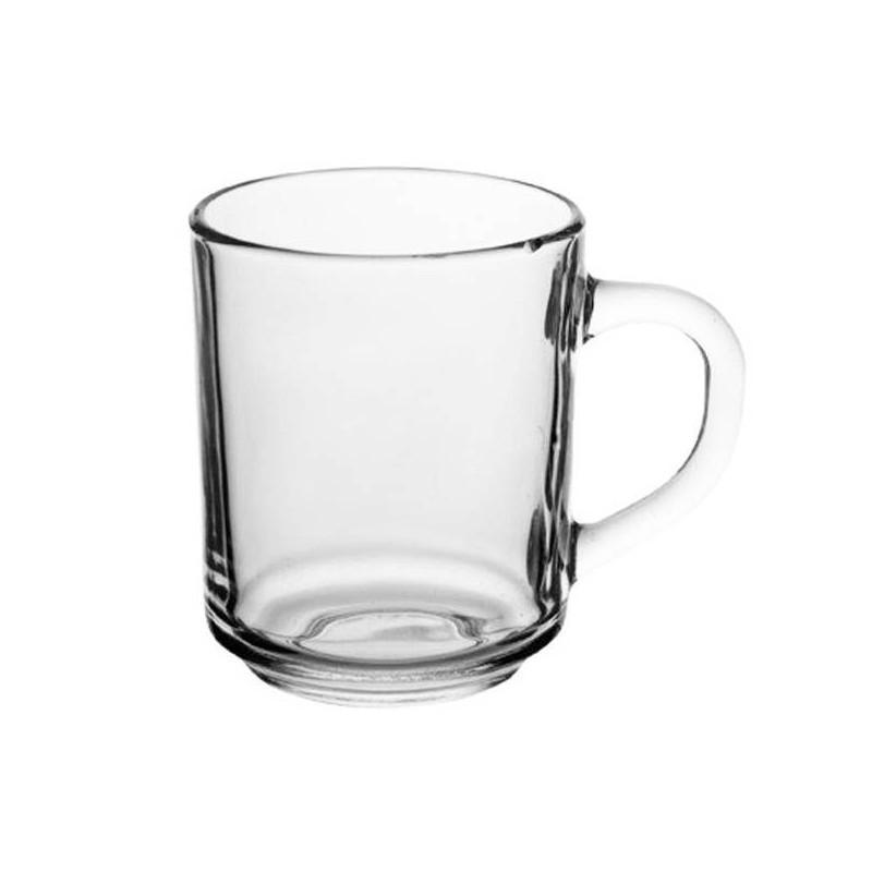 Кружка скляна прозора Luminarc 250 мл (H8437)