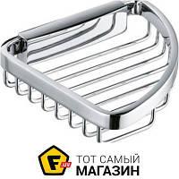 Мыльница для ванной - металл - Kludi A-Xes (4898705) - металлик шуруп