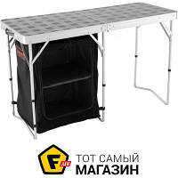 Стол-кухня алюминий, пластик, полиэстер (терилен) Coleman Camp Table & Storage 2в1 (2000024719)