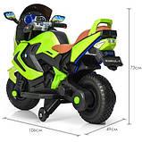 Мотоцикл Bambi M 3681ALS-5 Green (ME00738), фото 4