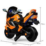 Мотоцикл Bambi M 3681AL-7 Orange (ME00780), фото 4