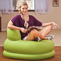 Надувное кресло Intex 68592 Mode Chair 99 х 84 х 76 см Зеленое