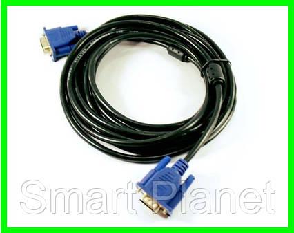 Шнур Кабель VGA - VGA 5м, фото 2