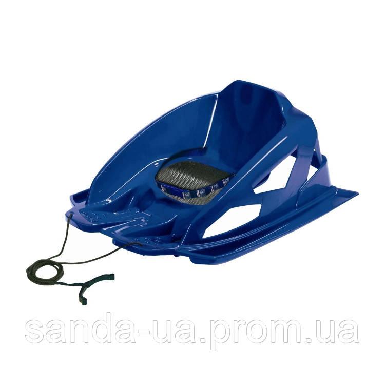 """Зимние санки """"Alpen Bambino"""" синие"""