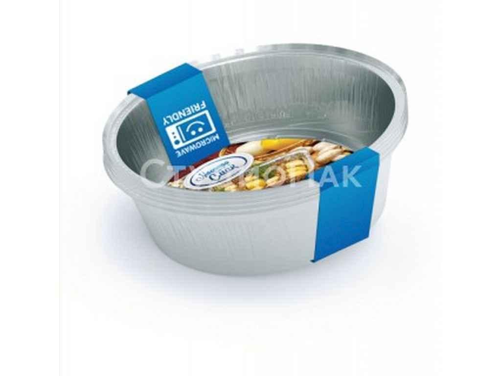 Набор контейнеров из пищевой фольги Мастер Смак  1440 мл упаковка 5 шт