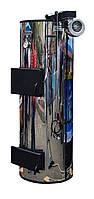 PlusTerm Хром 25 кВт Бытовые твердотопливные котлы длительного горения