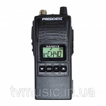 Портативная радиостанция PRESIDENT RANDY II Portable