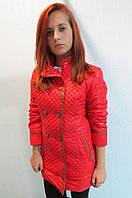 Куртка  женская SODISALLY 07322 красная код 612а