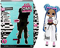 """Игровой набор с куклой L.O.L. Surprise! серии O.M.G"""" S3 - Леди-Релакс (570165) (035051570165)"""