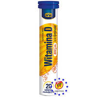 Витамины Kruger Vitamin D - 20 таблеток