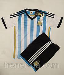Футбольная форма детская сборная Аргентина белая