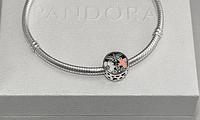Бусина шарм подвеска для браслета Pandora Пандора серебряная, фото 1