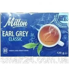 Чай черный классический с бергамотом  Milton (80шт) 120г Польша