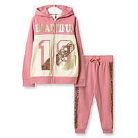 Костюм для девочки 3 в 1 Beautiful, розовый Baby Rose (98)