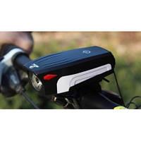 Фонарь велосипедный аккумуляторный со звуковым сигналом AS-0909 Все предложения продавца