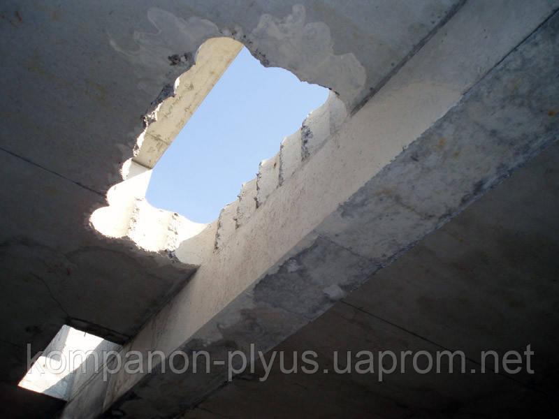 Алмазная резка проемов стен