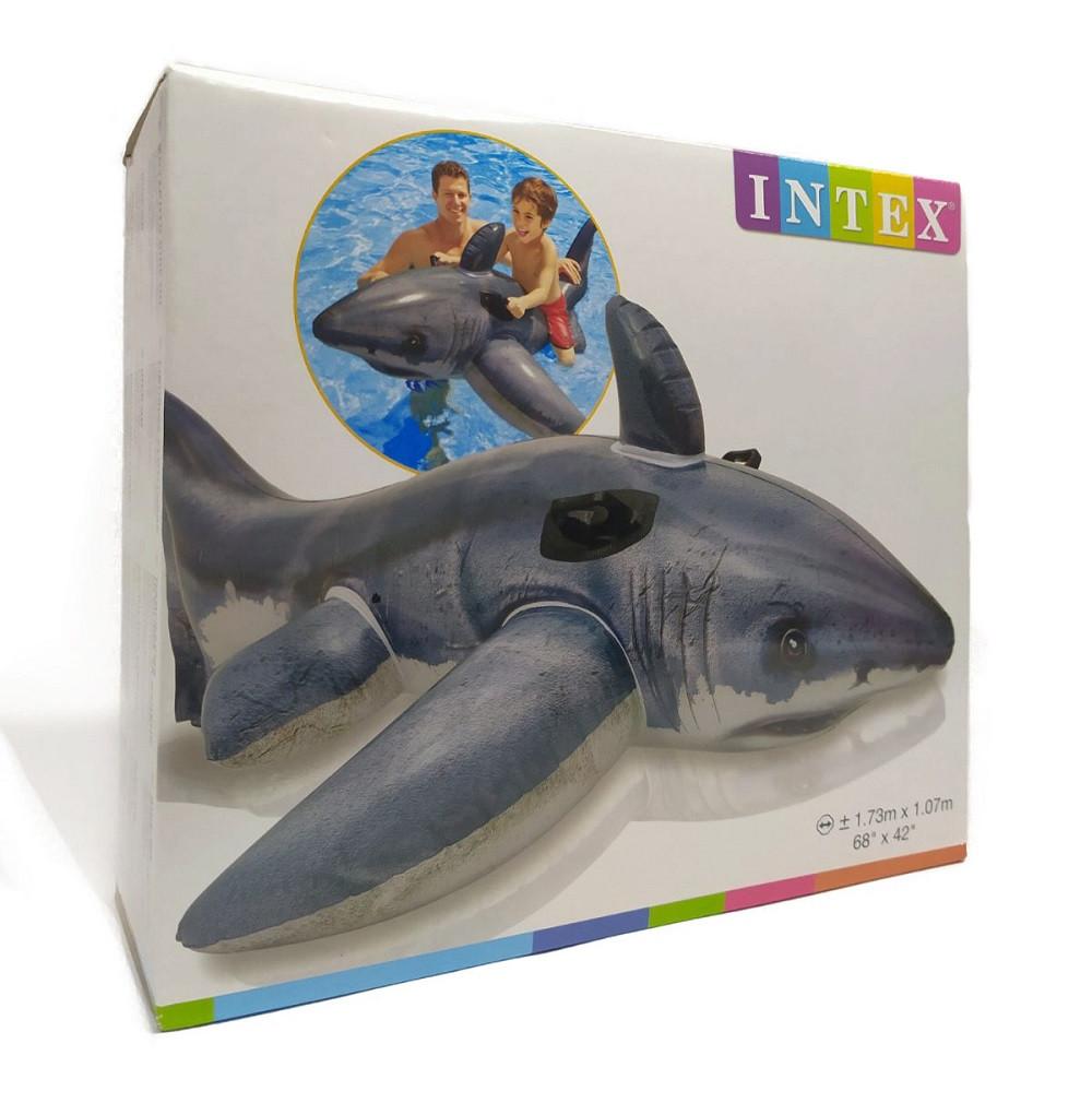 Надувная акула 57525NP Intex