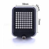 Интеллектуальный задний фонарь для велосипеда AQY-0100