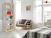 Модный стеллаж для дома, офиса или бутика LOFT на 3, 5 или 6 полок
