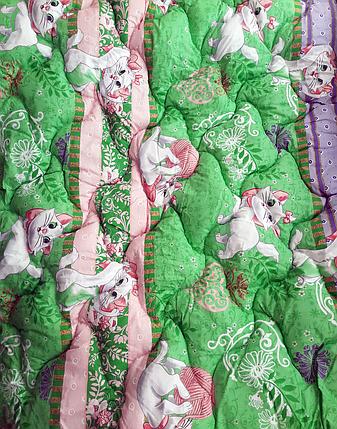 """Одеяло в детскую кроватку """"Котята"""" 140х110 (для девочки) - СОНЯ ТЕКС, фото 2"""