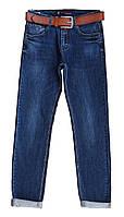 Джинсы мужские демисезонные синие с ремнём. джинси Размер 29, 30