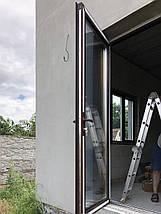 Входные алюминиевые двери для дома, фото 3