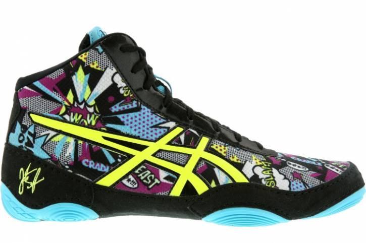 Борцовки, боксерки Asics JB Elite V2.0, КОМИКС, Обувь для борьбы Асикс. Обувь для бокса Asics. Размер 46