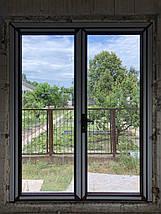Входные алюминиевые двери для дома, фото 2