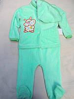 Комплект теплый для новородженного, р. 20-24, 125\105