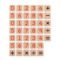 Набор Viga Toys Магнитные цифры и знаки 40 шт. (50591)