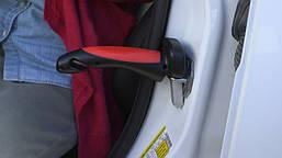 Ручка-опора Supretto для автомобиля Car Handle чёрно-красная
