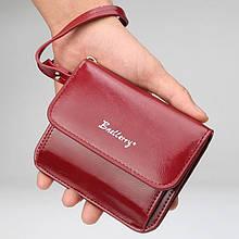Женский кошелек портмоне на кнопке BAELLERRY Young Small Красный