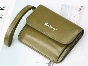 Женский кошелек портмоне на кнопке BAELLERRY Young Small Зеленый