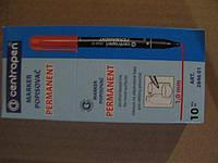 Перманентный маркер  1mm круглый, черный  тм Centropen  код2846 (10 шт)заходи на сайт Уманьпак