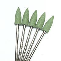 Фреза-полировщик силикон-карбидная зеленая зауженная