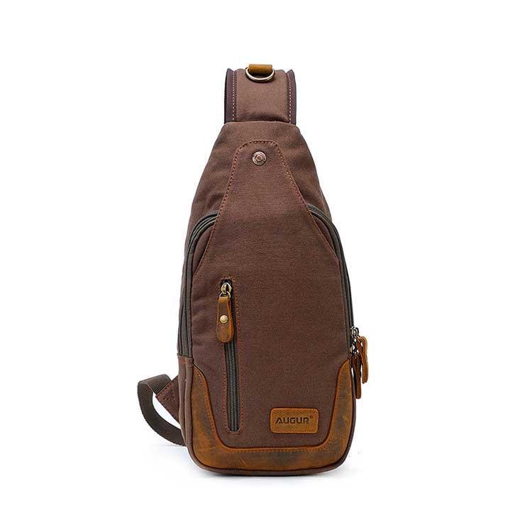 Рюкзак через плече Augur | коричневий