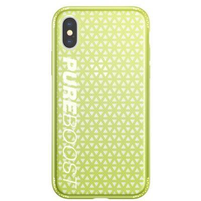 Чехол для моб. телефона Baseus Parkour для iPhone X, Lemon green (WIAPIPHX-KP06)