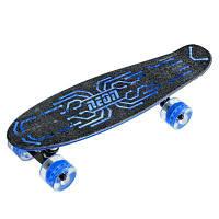 Скейтборд детский NEON Hype Синий (N100787)