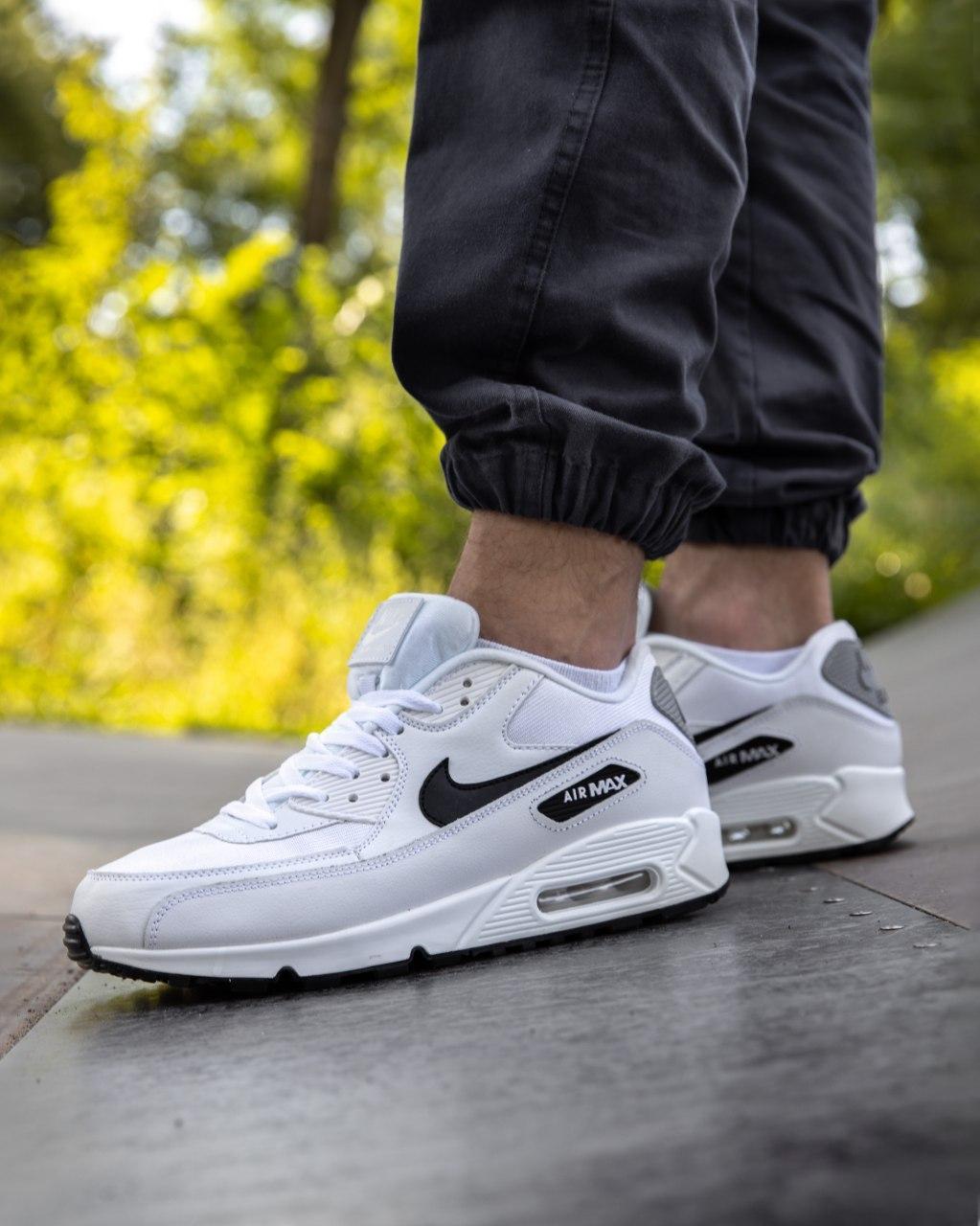Кросівки чоловічі NIKE AIR MAX 90 білі М0159