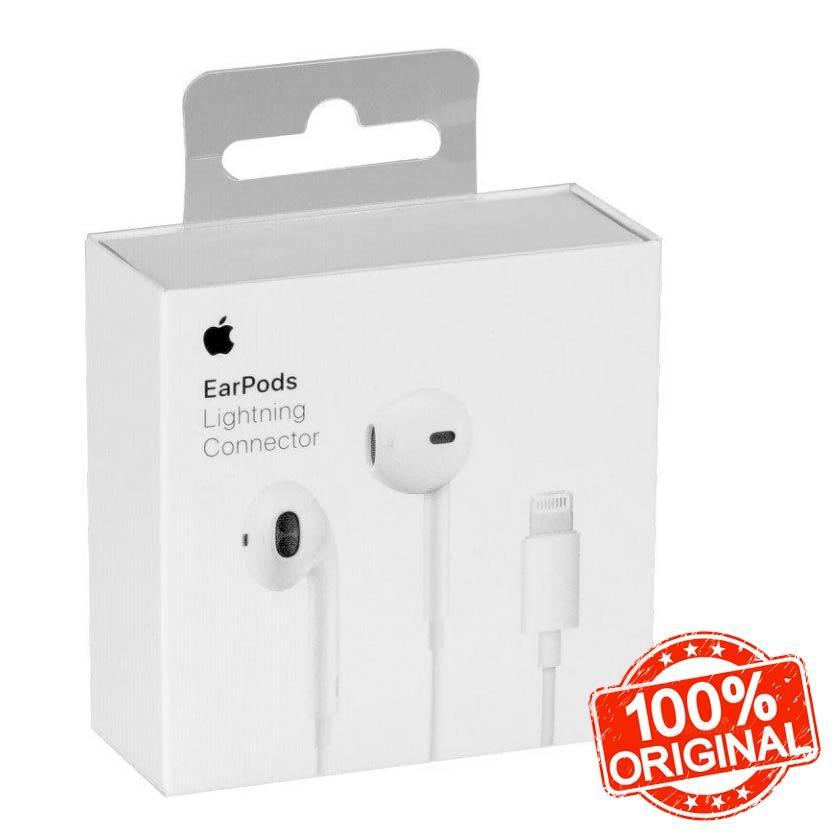 Наушники для Айфона проводные (ORIGINAL 100%), Earpods Lighting Original 100%