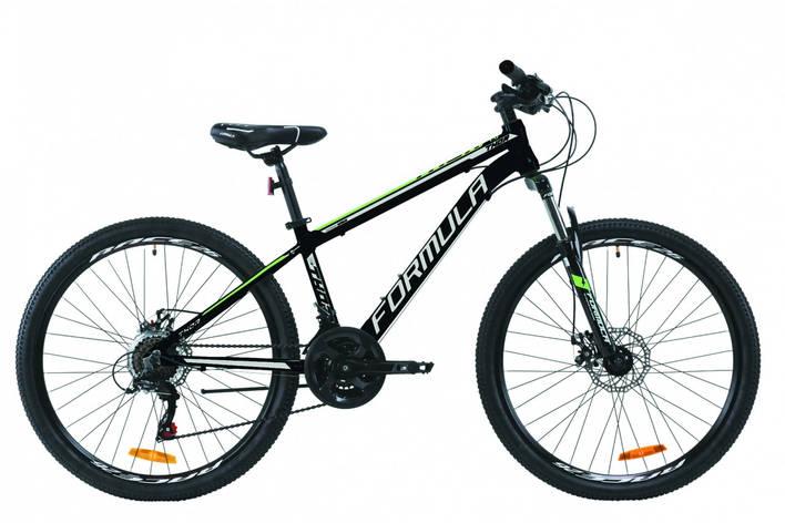 """Велосипед горный 26"""" Formula Thor 1.0 2020 алюминиевая рама 18"""", черно-зеленый, фото 2"""