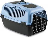 Переноска для собак и кошек Stefanplast Gulliver 3 (синий/серый) 61*40*38см.