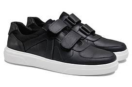 Чоловічі кросівки з натуральної шкіри GX 55 White р. 46 47 48 49 50