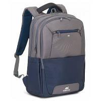 "Рюкзак для ноутбука RivaCase 17.3"" 7777 Steel blue/grey (7777SteelBlue/grey), фото 1"